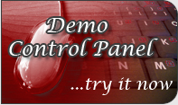 Try now our demo control panel.